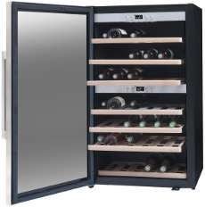 Weintemperierschrank 2 Zonen Lasommelière Ecs70.2z